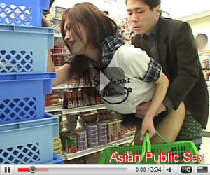 Asian Public sex