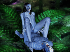 AVATAR Porn cartoon