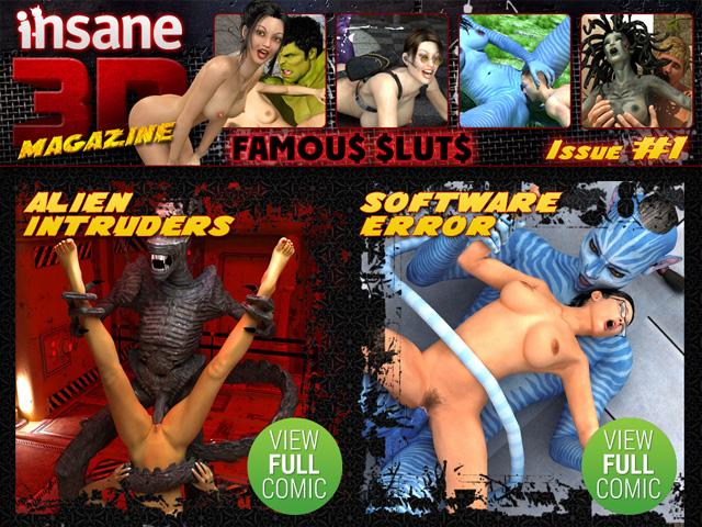 Famous Sluts : Insane3D